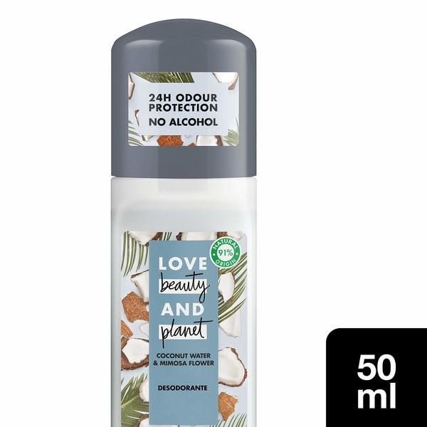 Deodorant Love Beauty And Planet 3 uds (Refurbished A+)