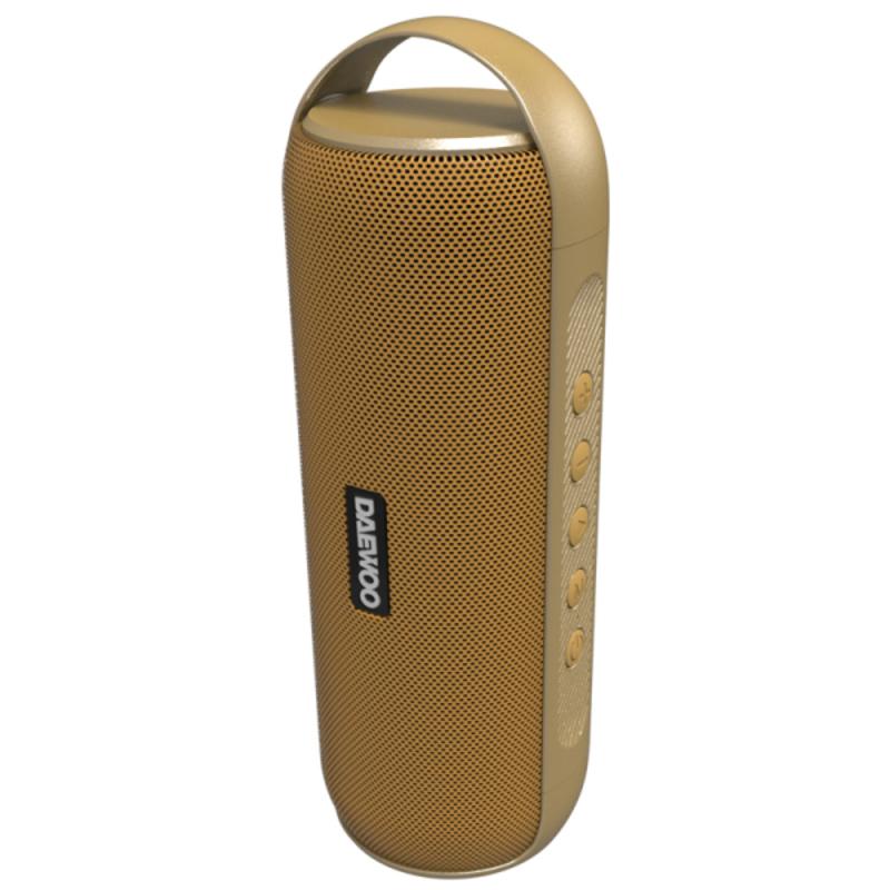 Altavoz Bluetooth Portátil Daewoo DBT-20 12W Dorado