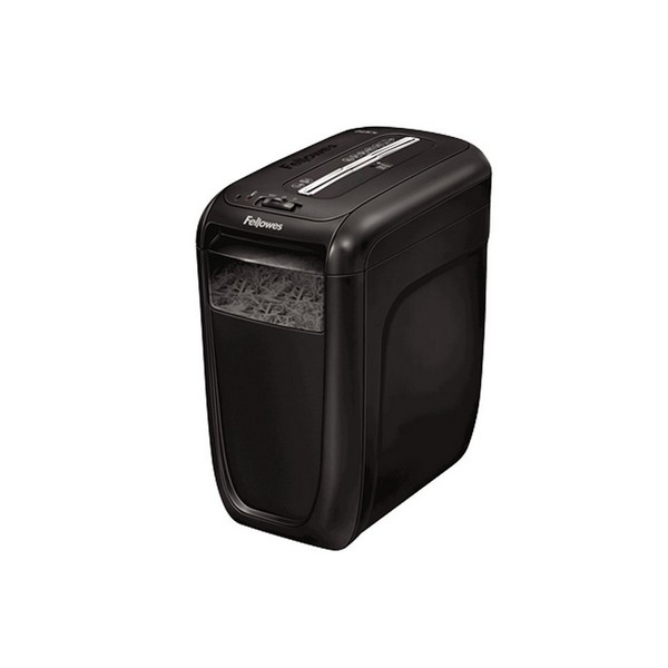 Trituradora de Papel Fellowes 60CS 22 L 10 Hojas Negro