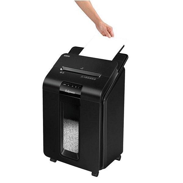 Micro-Cut Paper Shredder Fellowes AutoMax100M Black