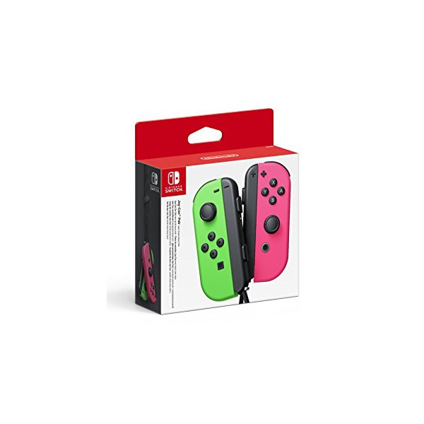Gamepad Inalámbrico Nintendo Joy-Con Verde Rosa