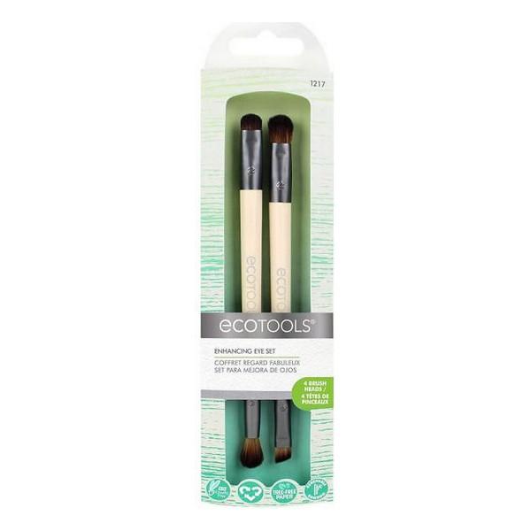 Set de Brochas de Maquillaje Eye Enhancing Ecotools (2 pcs)