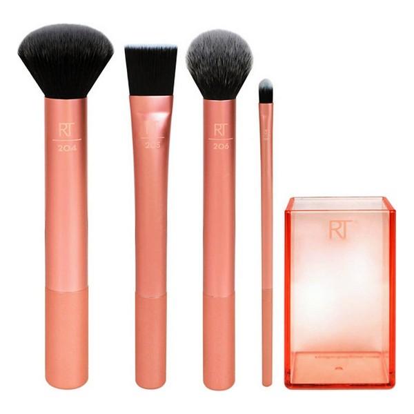 Set de Brochas de Maquillaje Flawless Real Techniques (4 pcs)