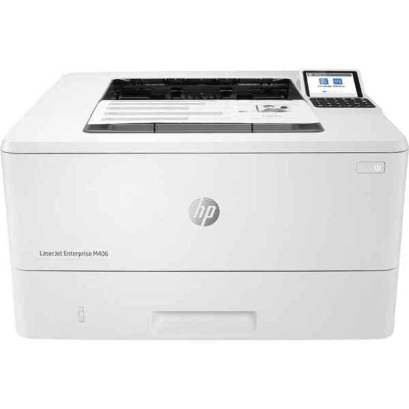 Laser Printer HP LaserJet Enterprise M406DN White USB