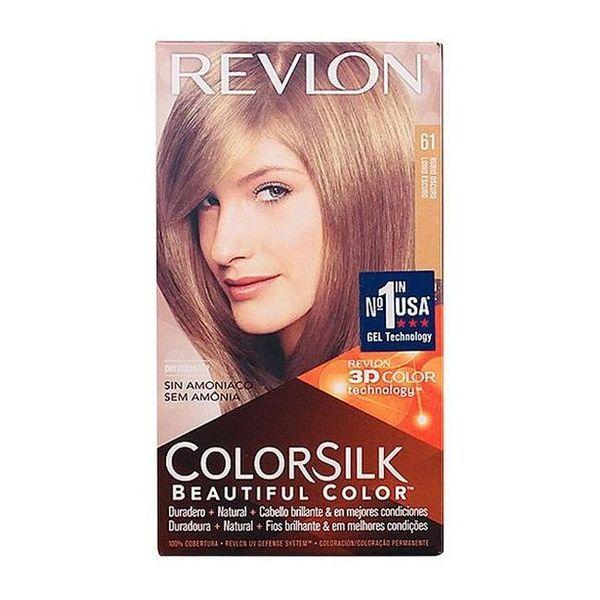 Tinte sin Amoniaco Colorsilk Revlon Rubio oscuro