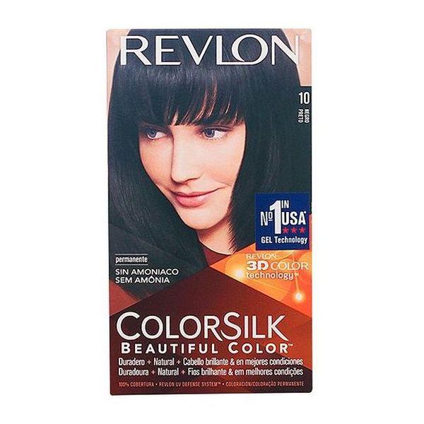 Tinte sin Amoniaco Colorsilk Revlon Negro