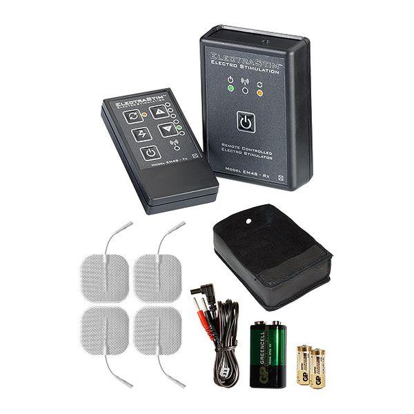 Set Electrosex Con Control Remoto ElectraStim EM48-E