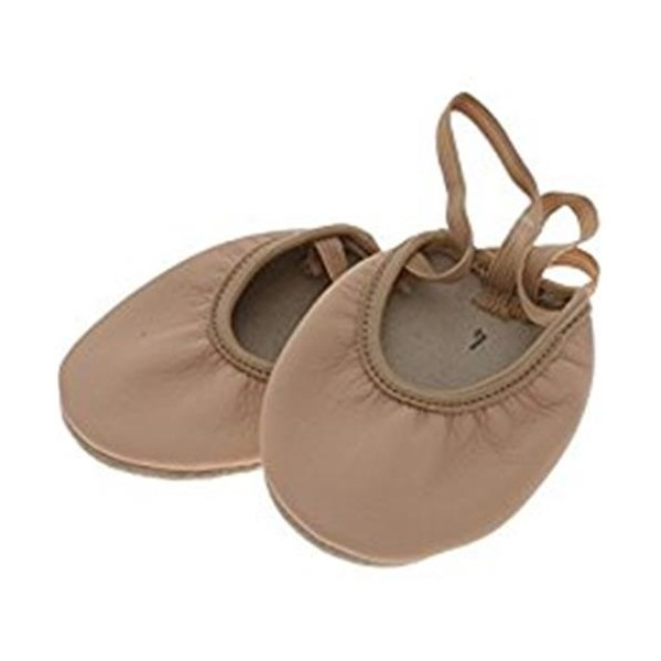 Children's Rhythmic Gymnastics Toe Shoes Valeball Beige