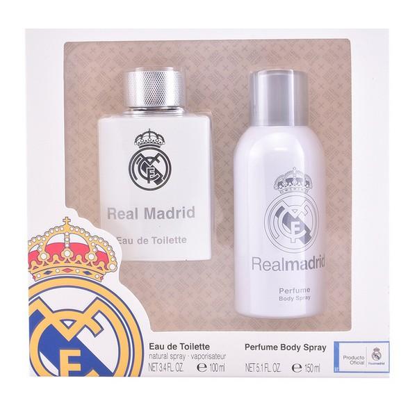 Men's Perfume Set Real Madrid Sporting Brands (2 pcs)