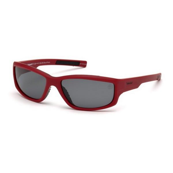 Gafas de Sol Unisex Timberland TB9154-6267D Rojo (62 Mm)
