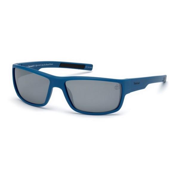 Gafas de Sol Unisex Timberland TB9153-6391D Azul (63 Mm)