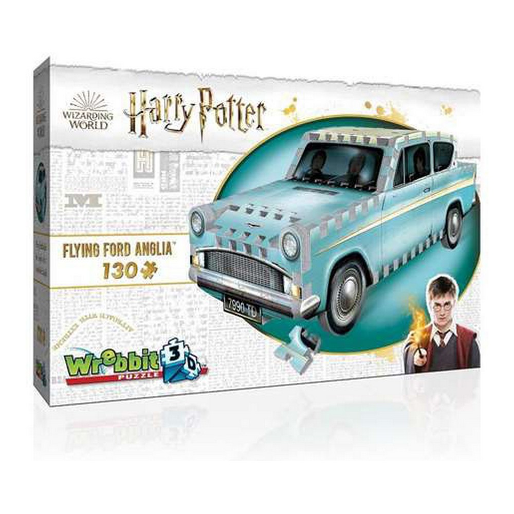 3D Puzzle Harry Potter Flying Ford Anglia Wrebbit (130 pcs)