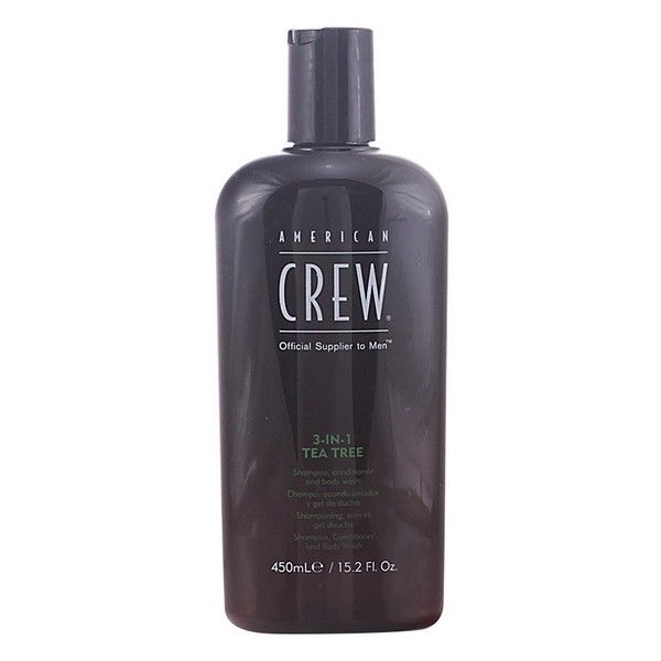 2-in-1 Shampoo and Conditioner Tea Tree American Crew (450 ml)