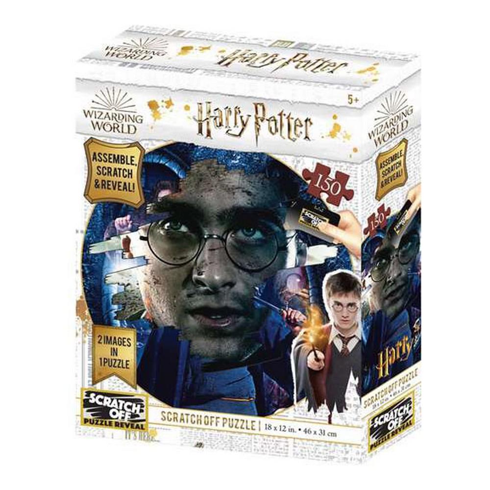 Puzzle Scratch Off Harry Potter (150 pcs)