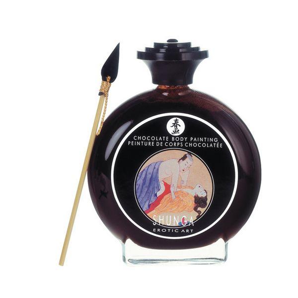 Pintura Corporal Afrodisíaca Shunga SH7000 Chocolate (100 ml)