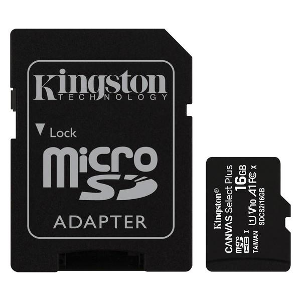 Tarjeta de Memoria Micro SD con Adaptador Kingston SDCS2 100 MB/s exFAT