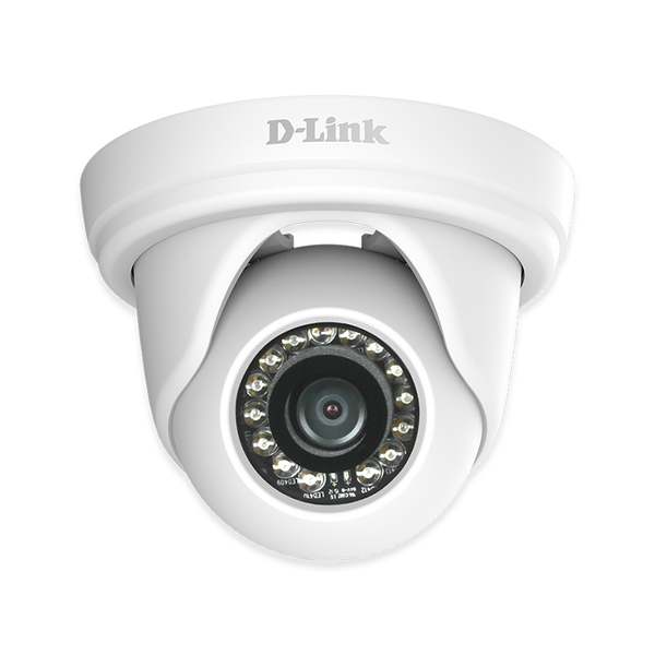External IP Camera D-Link Mini Domo DCS-4802E HD 1080p PoE (H/V/D): 96° / 54° / 108° Zoom 10x White