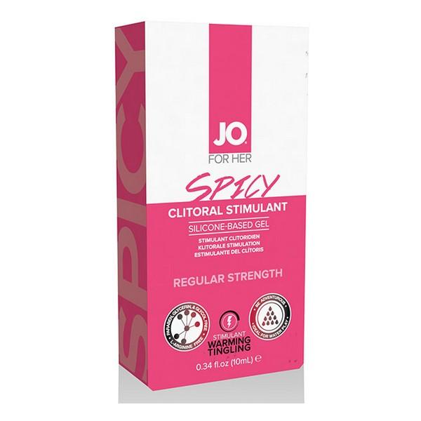 Clitoral Stimulant Warming Spicy 10 ml System Jo SJ40124