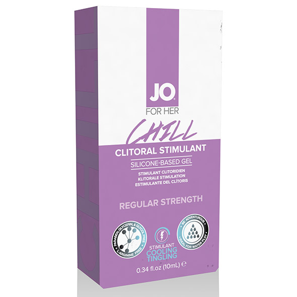 Clitoral Stimulant Cooling Chill 10 ml System Jo VDL40214