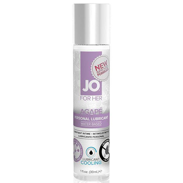 Lubricante Femenino Efecto Frío Agape (30 ml) System Jo SJ41062