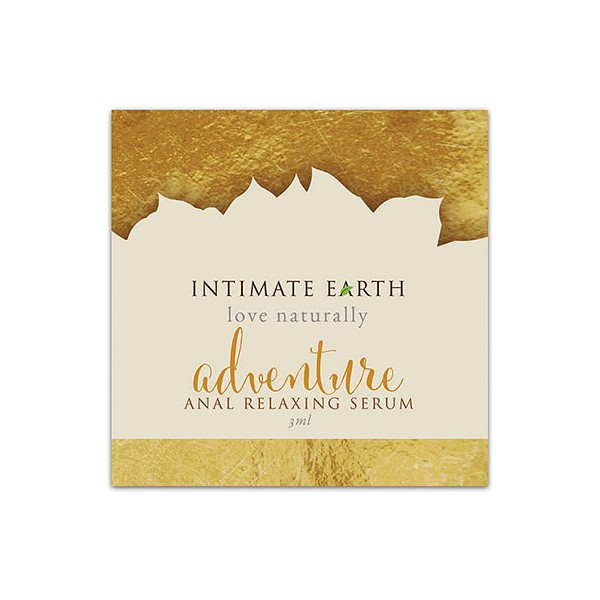 Anal Relaxing Serum Adventure Foil 3 ml Intimate Earth