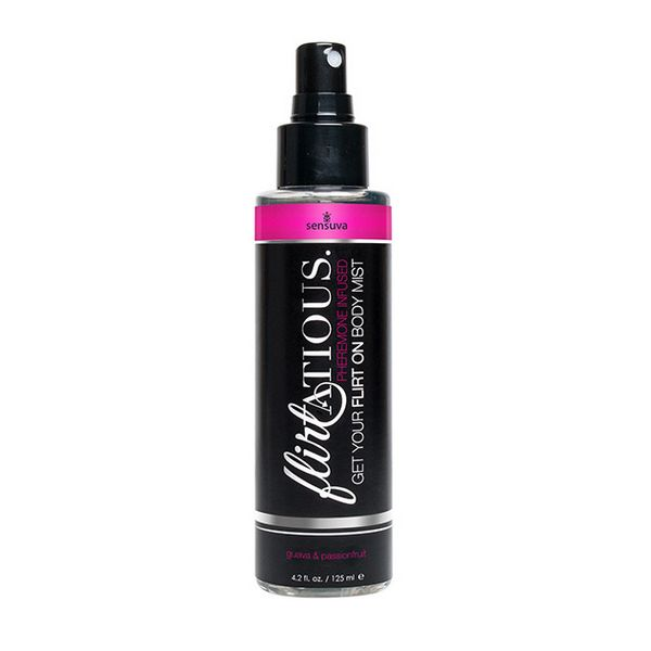 Flirtatious Passion Fruit & Guava Pheromone Body Mist 125 ml Sensuva 7556
