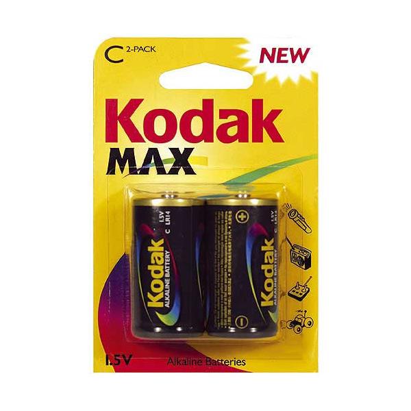 Pila Alcalina Kodak LR14 1,5 V (2 pcs)