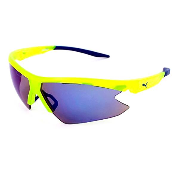 Óculos escuros unissexo Puma PU0036S-004 (ø 60 mm) (Azul)