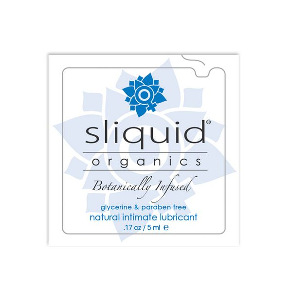 Organics Natural Lubricant Pillow 5 ml Sliquid 722