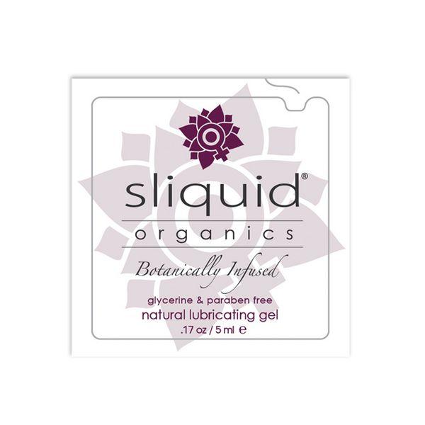 Organics Natural Lubricant Pillow 5 ml Sliquid 753