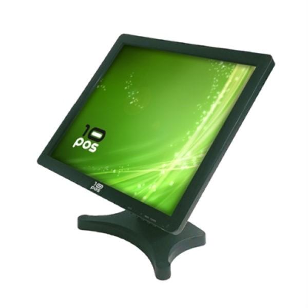 """Monitor con Pantalla Táctil 10POS TS-19V 19"""" LCD Negro"""