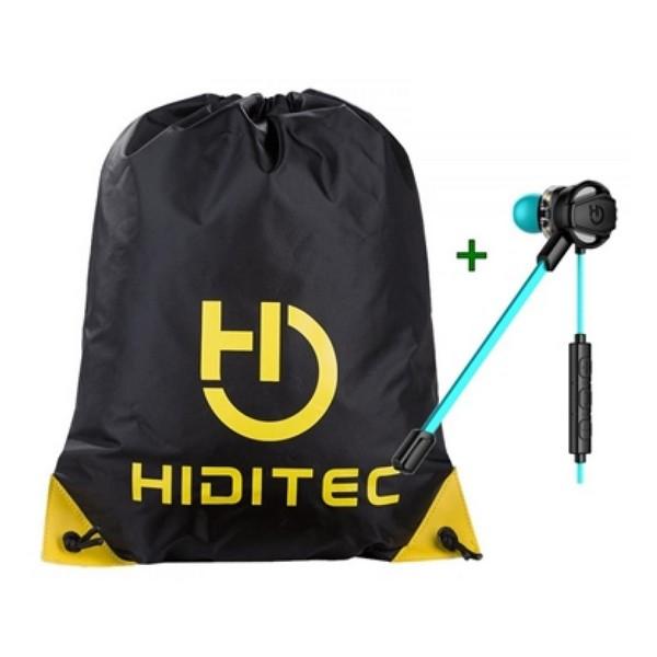 Auriculares con Micrófono + Bolsa Mochila con Cuerdas Hiditec PAC010008