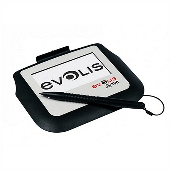 Tableta Capturadora de Firmas Evolis SIG100 Negro