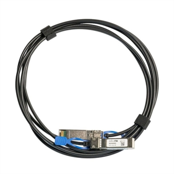 Red SFP + Cable Mikrotik XS+DA0003 SF/SFP+ SFP28 1G / 10G / 25G 3M