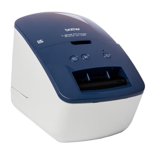 Impresora para Etiquetas Brother QL600B 300 dpi 71 mm/s USB 2.0 Azul