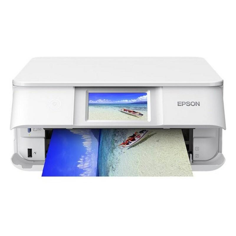 Impresora Multifunción Epson Expression Photo XP-8605 32 ppm WiFi Blanco
