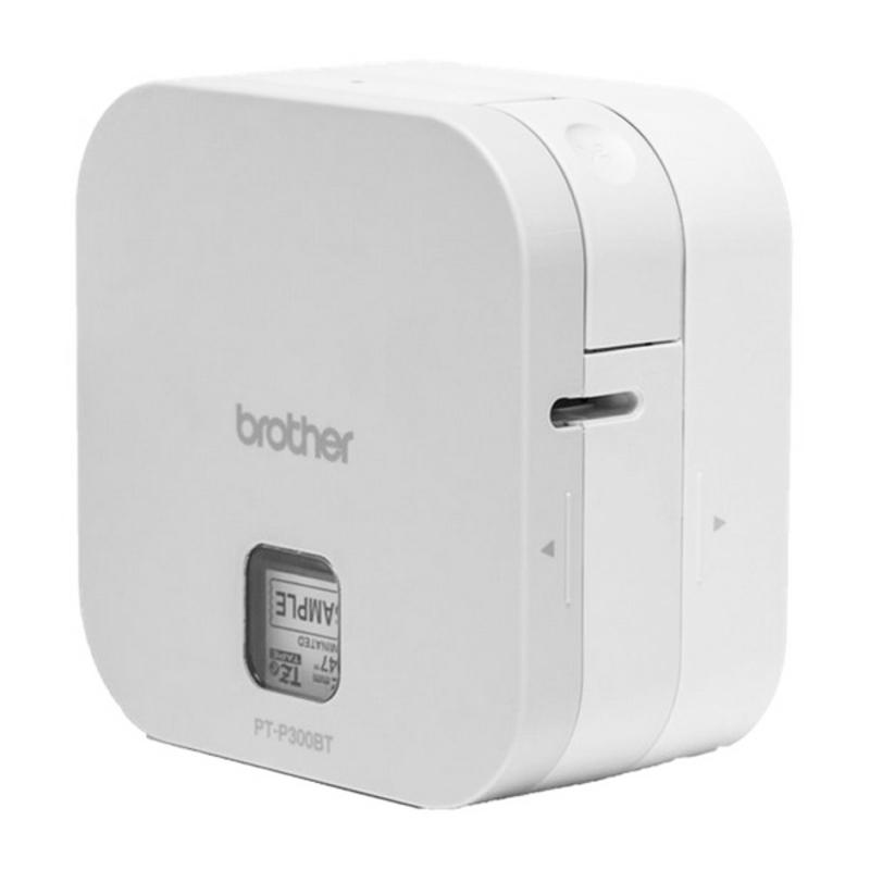Impresora para Etiquetas Brother PTP300BT Cube 180 dpi 20 mm/s Blanco