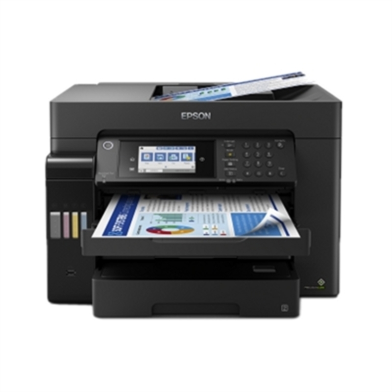 Impresora Multifunción Epson Ecotank ET-16650 25 ppm WiFi Negro