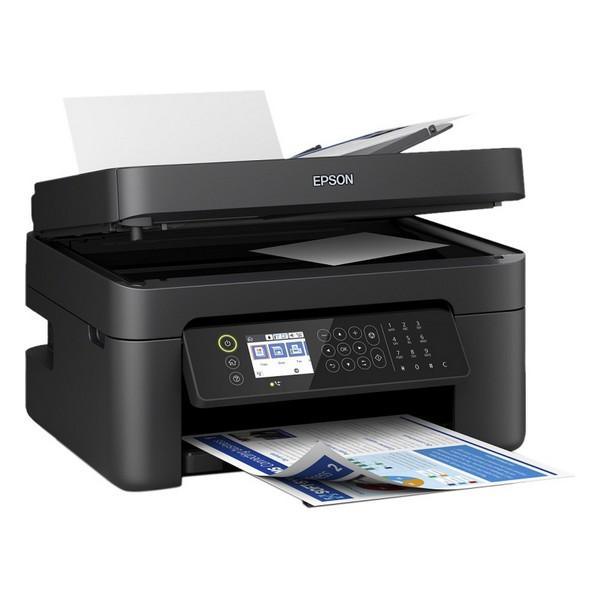 Impresora Multifunción Epson WF-2850DWF 33 ppm WiFi Fax Negro