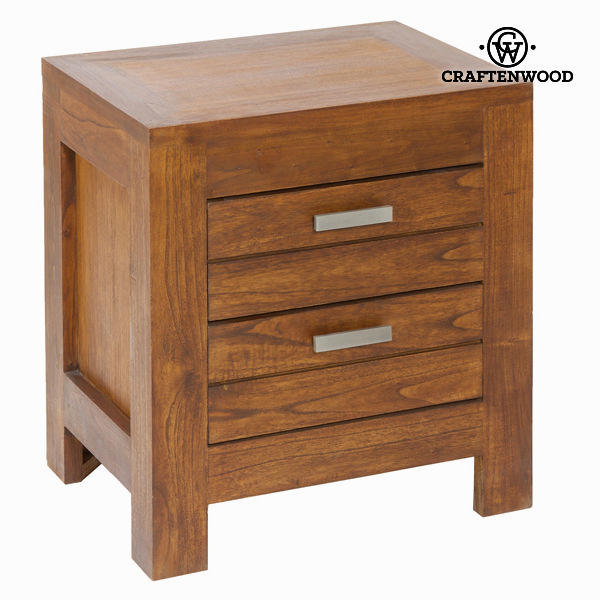 Nightstand Mindi wood (50 x 38 x 54 cm) - Be Yourself Collection by Craftenwood