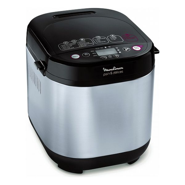 Bread Maker Moulinex OW240E30 650W Stainless steel Black