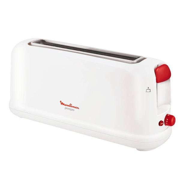 Tostadora con Función Descongelante Moulinex LS16011 1000W Blanco