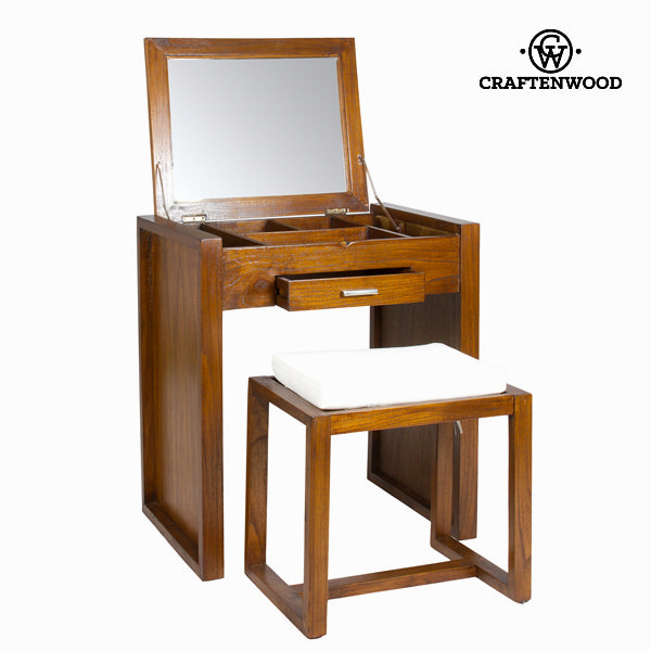 Make-up desk with stool - Let's Deco Collection by Craftenwood