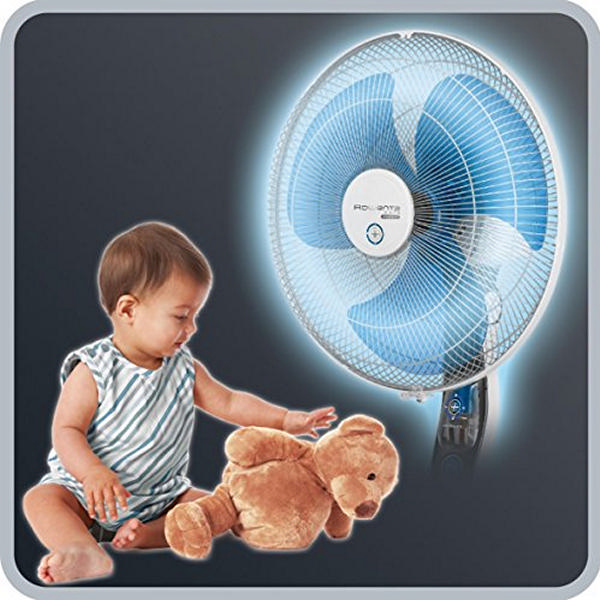 Stojanový Ventilátor s Funkciou Odpudzovanie Komárov Rowenta Ultimate Protect VU4210F0 60W 115/145 x 40 cm