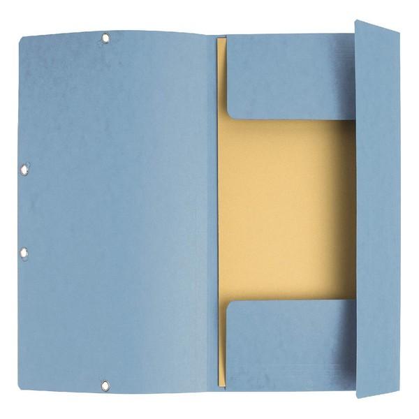 Folder A4 Exacompta 357608 Cardboard Rubber (Refurbished A+)