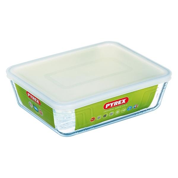 Fiambrera Pyrex C&F Transparente Vidrio de Borosilicato (1)