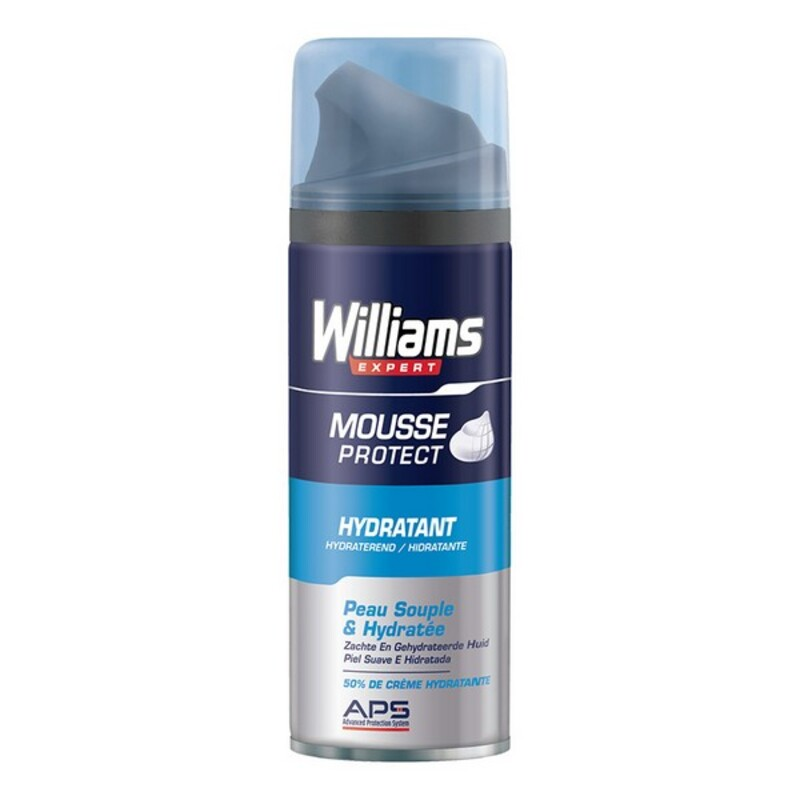 ESPUMA DE AFEITAR WILLIAMS PIEL SECA (200 ML)