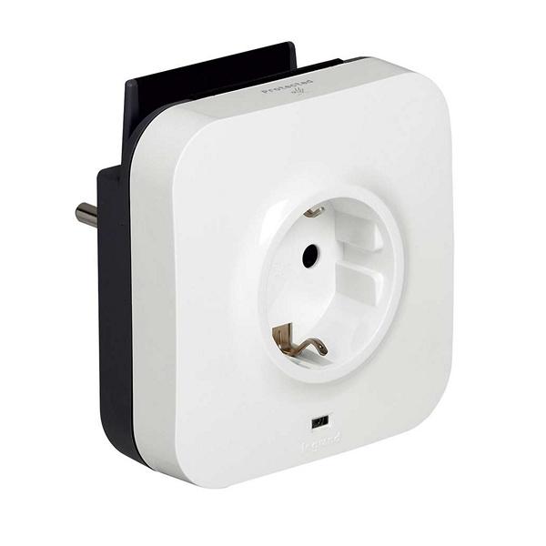Enchufe Pared con 2 Puertos USB Legrand 218985 USB 5V x 2 Blanco