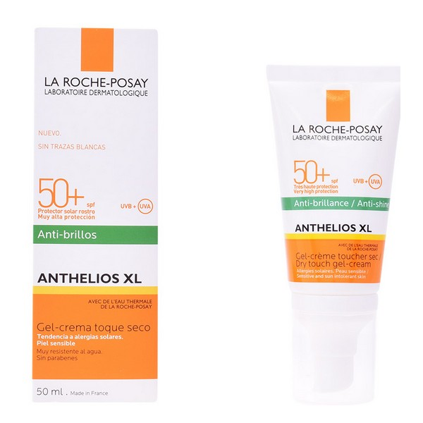Gel z zaščito proti soncu Anthelios Xl La Roche Posay Spf 50 (50 ml)