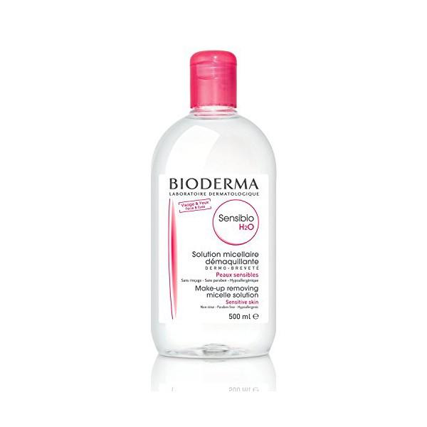 Micellar Water Sensibio H2o Bioderma (500 ml)